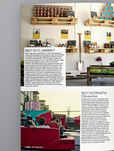 exBerliner magazine